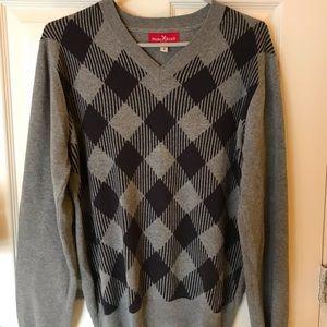Marc Ecko Cut & Sew Grey Sweater